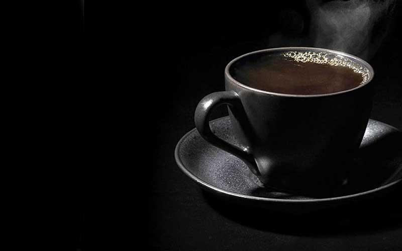 تهیه ی قهوه سیاه یا بلک کافی