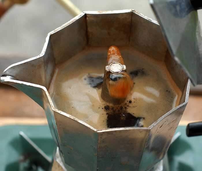 طرز تهیه ی قهوه با موکاپات
