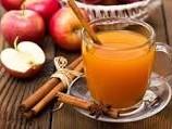 دمنوش دارچین و سیب ترش
