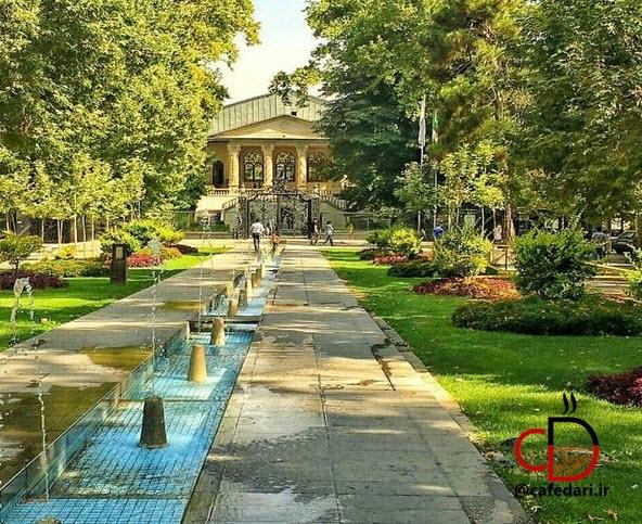 کافه سینما باغ فردوس