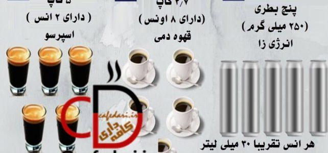 کافئین قهوه