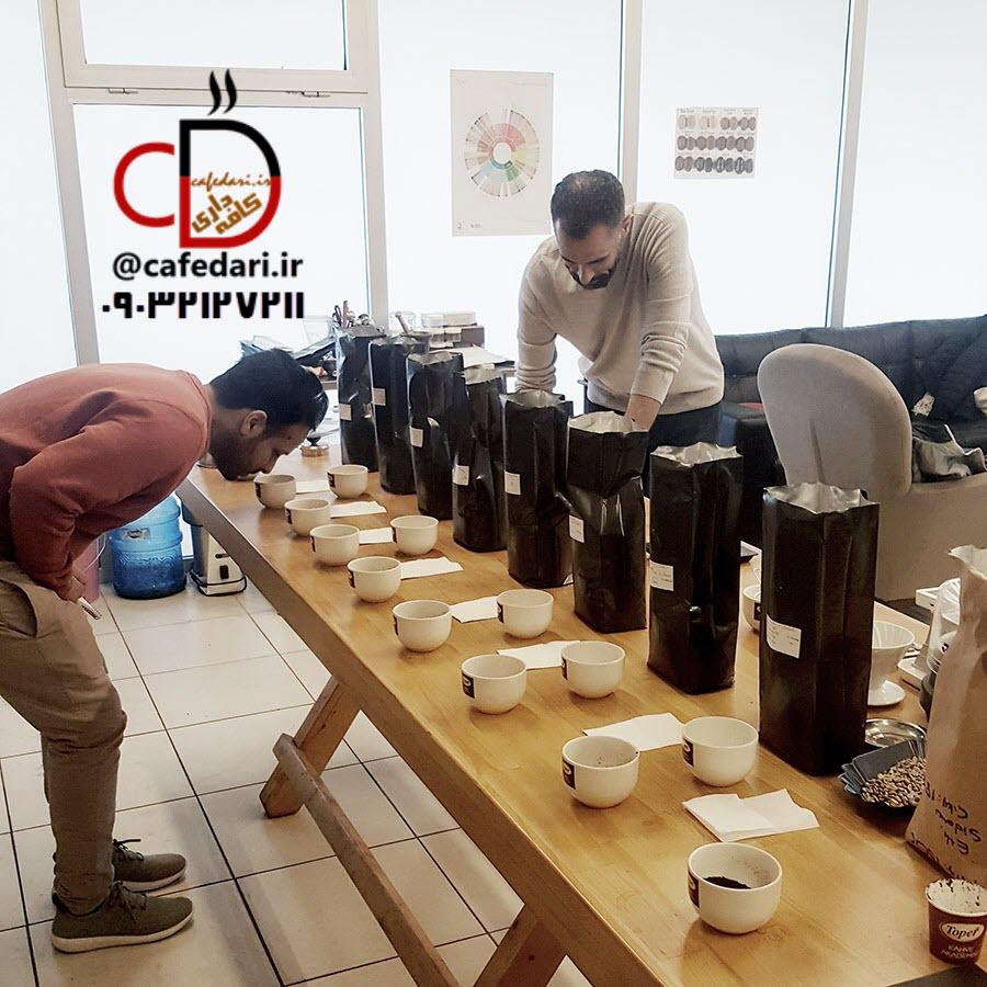 آموزش رست قهوه